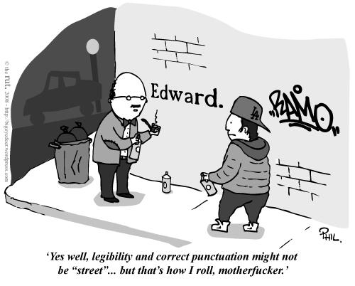 Legibility And Correct Punctuaion