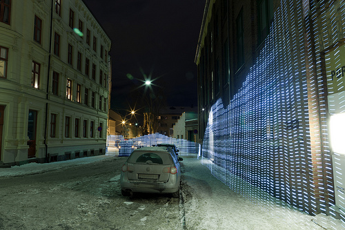 Light Painting With Wi-Fi Signal