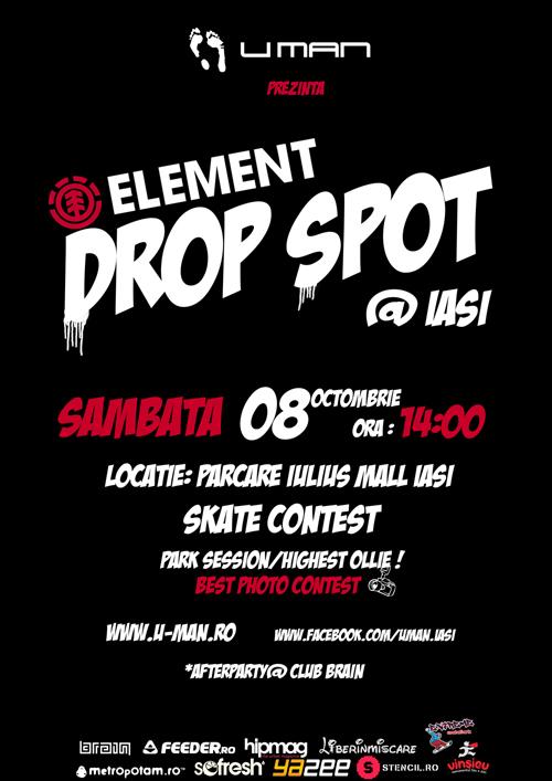 DROP-SPOT Skate Contest