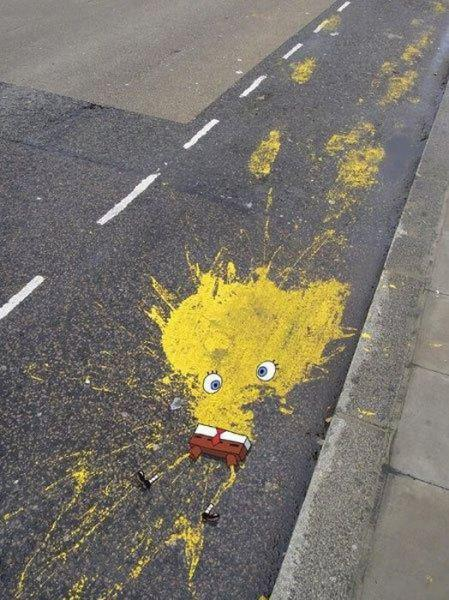 SpongeBob SquarePants Splat