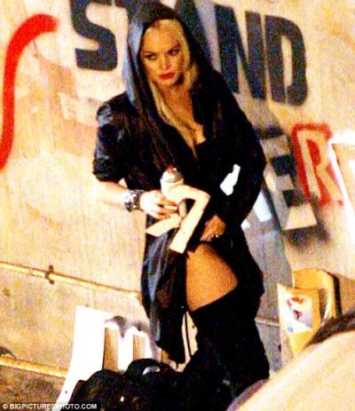 Lindsay Lohan Street Artist