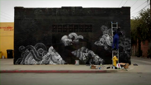 OUTSIDE IN : The Story of Art in the Streets