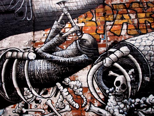 Prey to some wild beast by PHLEGM