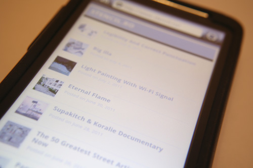 STENCIL.RO Mobile Awareness