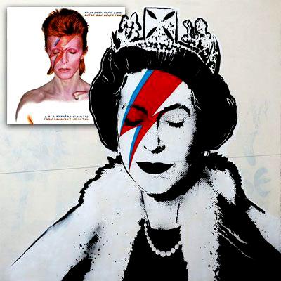 Banksy & David Bowie