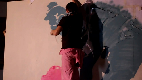 MAJOR RAZOR : Stencil Art Exhibition