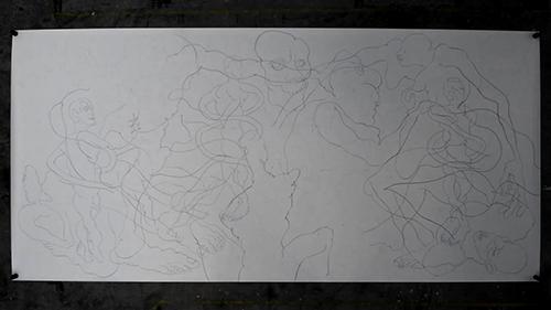 Slitscanner Drawing
