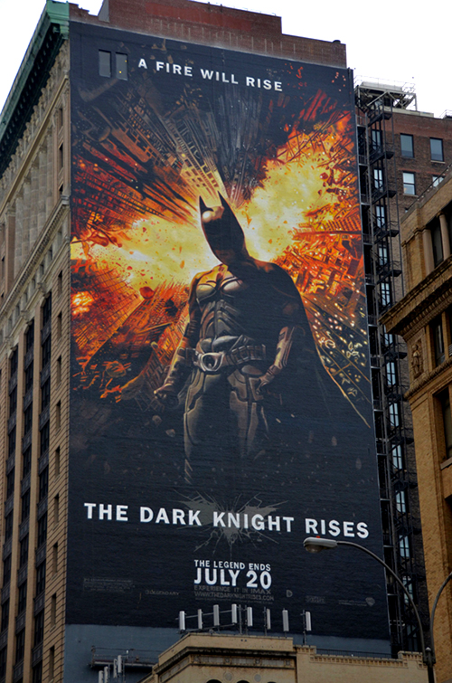The Dark Knight Rises Street Art