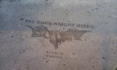 The Dark Knight Rises Cinema Stencil
