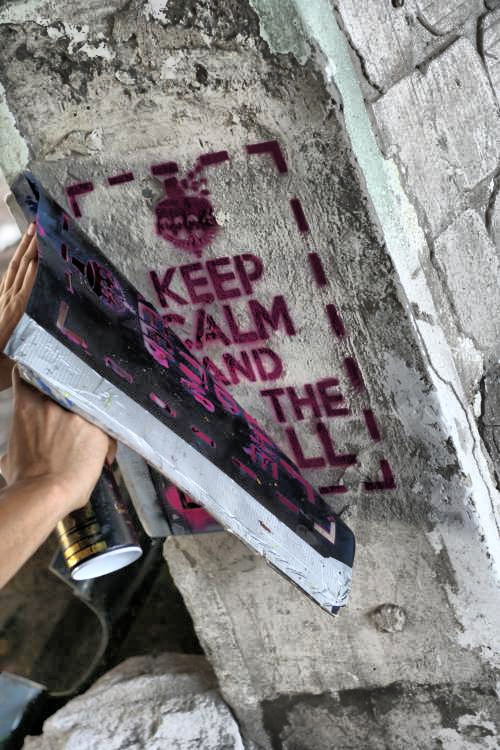Keep Calm And Kill The Wall