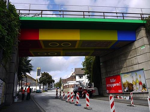 MEGX's Lego Bridge