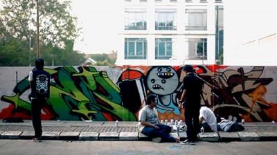 "Street Art Gathering ""Jumpa Tembok 2"""
