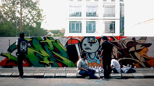 "Street Art Gathering ""Jumpa Tembok 2"""