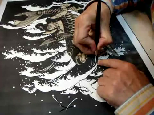 Kiri-e : The Japanese Art Of Paper Cutting