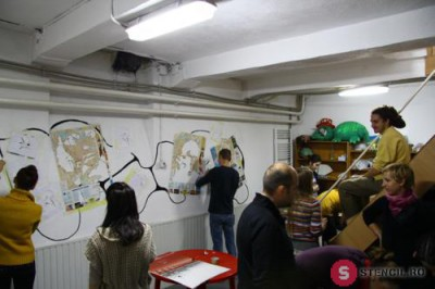 ORTAKU : Workshop De Stencil