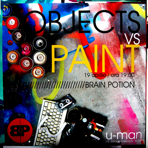Objects vs Paint Exhibition