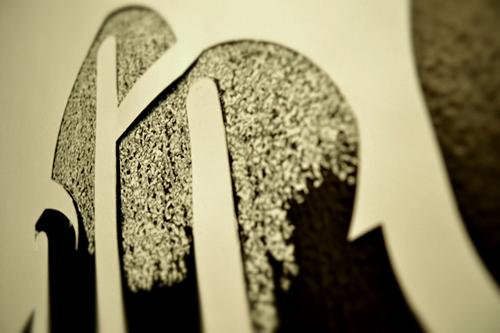 Chalk + Stencil