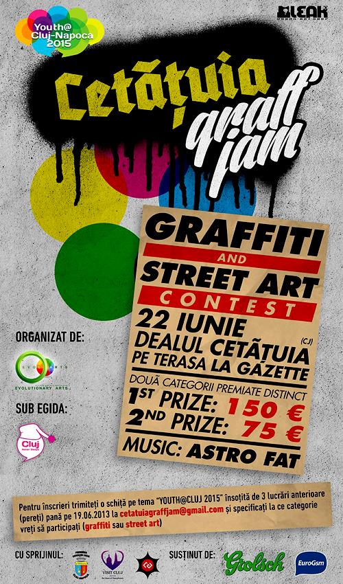 CETATUIA GRAFF JAM : Graffiti & Street Art Contest