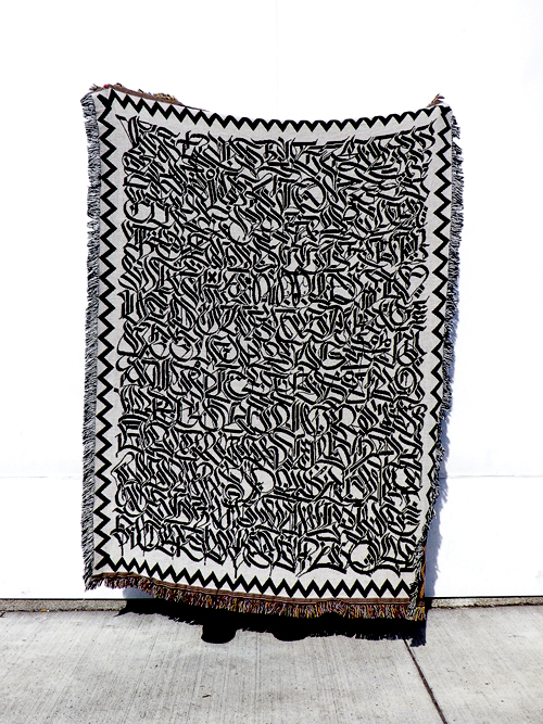 The Calligraphy Blanket