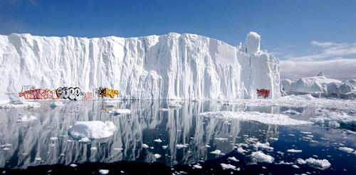 Glacier Graffiti