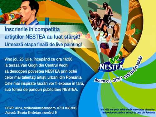 Nestea Live Painting Event