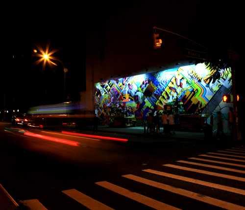 REVOK and POSE and the Transformation of The Houston Wall