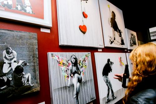 Stencil Art Norway Exhibition Photos