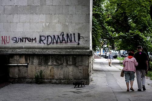 In Culisele Razboiului Graffiti Din Chisinau