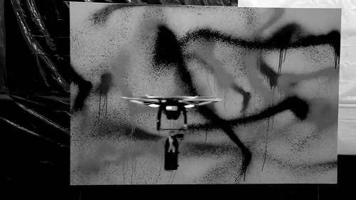 KATSU's Graffiti Drone