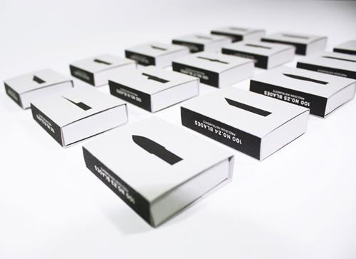 Stylish X-Acto Knives Packaging by Heesang Lee