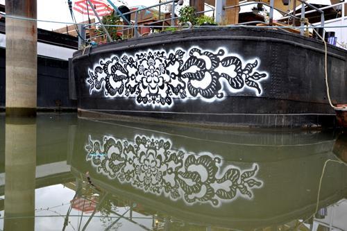 NeSpoon Stencil Street Art