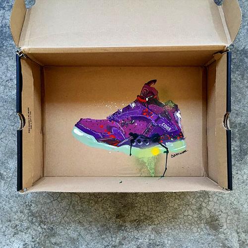 SneakerBox Art by Cloakwork