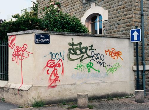 Mathieu Tremblin's Legible Graffiti Tags