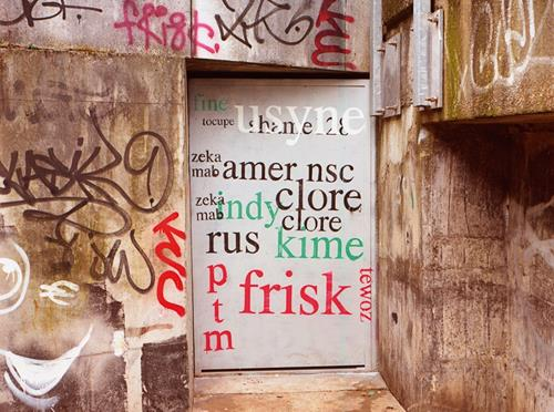 Mathieu Tremblin's Legible Graffiti Tags