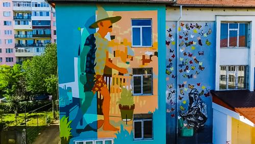Sibiu International Street Art Festival 2016 Murals