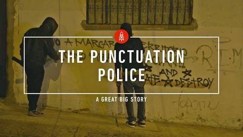 The Graffiti Grammar Police
