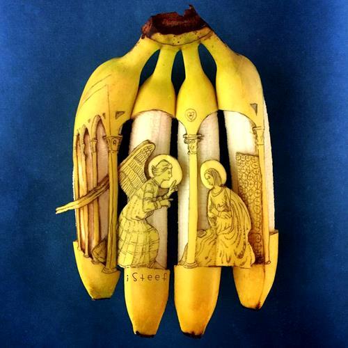 Banana Art By Stephan Brusche