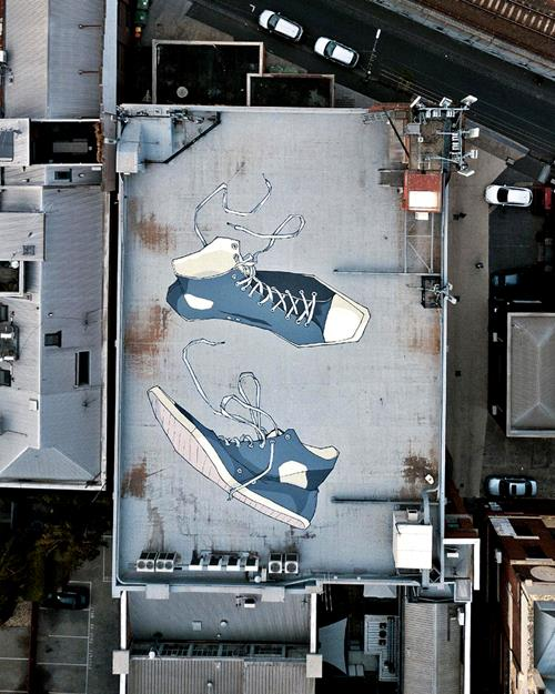Kitt Bennett Gigantic Ground Murals
