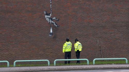 Banksy's Create Escape