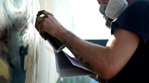world's longest graffiti scroll  stencilro